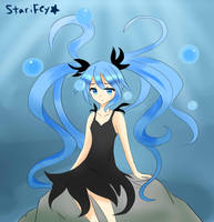 Deep Sea Girl by StariiFey