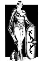 Gladiatrix Andabata by Area283
