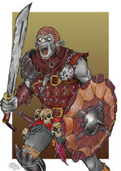 Ork! (color) by Area283