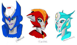 transformers prime by starfire59