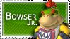 Bowser Jr. Stamp by Scrappanator