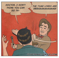 The Doctor is sensitive by SupaCrikeyDave