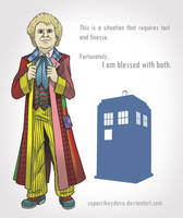 6th Doctor by SupaCrikeyDave
