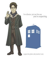8th Doctor by SupaCrikeyDave