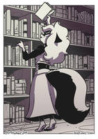 Meli and the Bookcase by SupaCrikeyDave
