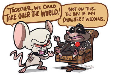 Brain and Mr.Big by SupaCrikeyDave