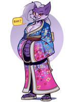 Kimono Vix by SupaCrikeyDave