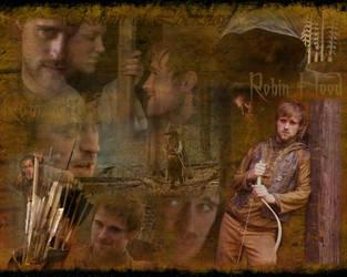 Robin Hood Wallpaper by d-fly