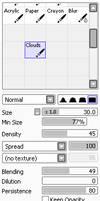 Paint Tool Sai: Cloud Brush by Viixon