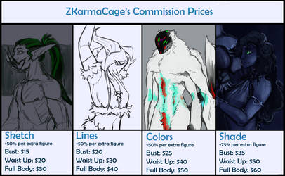 Commission Info-Sheet by Z-KarmaCage
