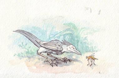 08 - Talon and varkid by KarinaKruglova
