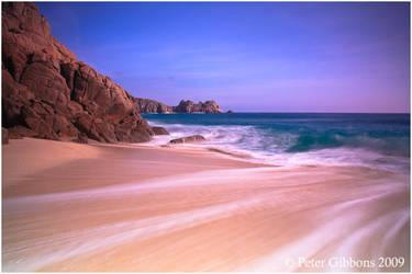 Porthcurno Cornwall by Photo-Joker