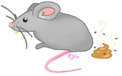 Mouse Crap by PinkSkullxo