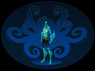 Abe Sapien 1600x1200 Desktop by Nexxorcist
