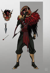 Ninja Redhood by Nexxorcist