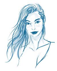 Anika Clarke by Nexxorcist