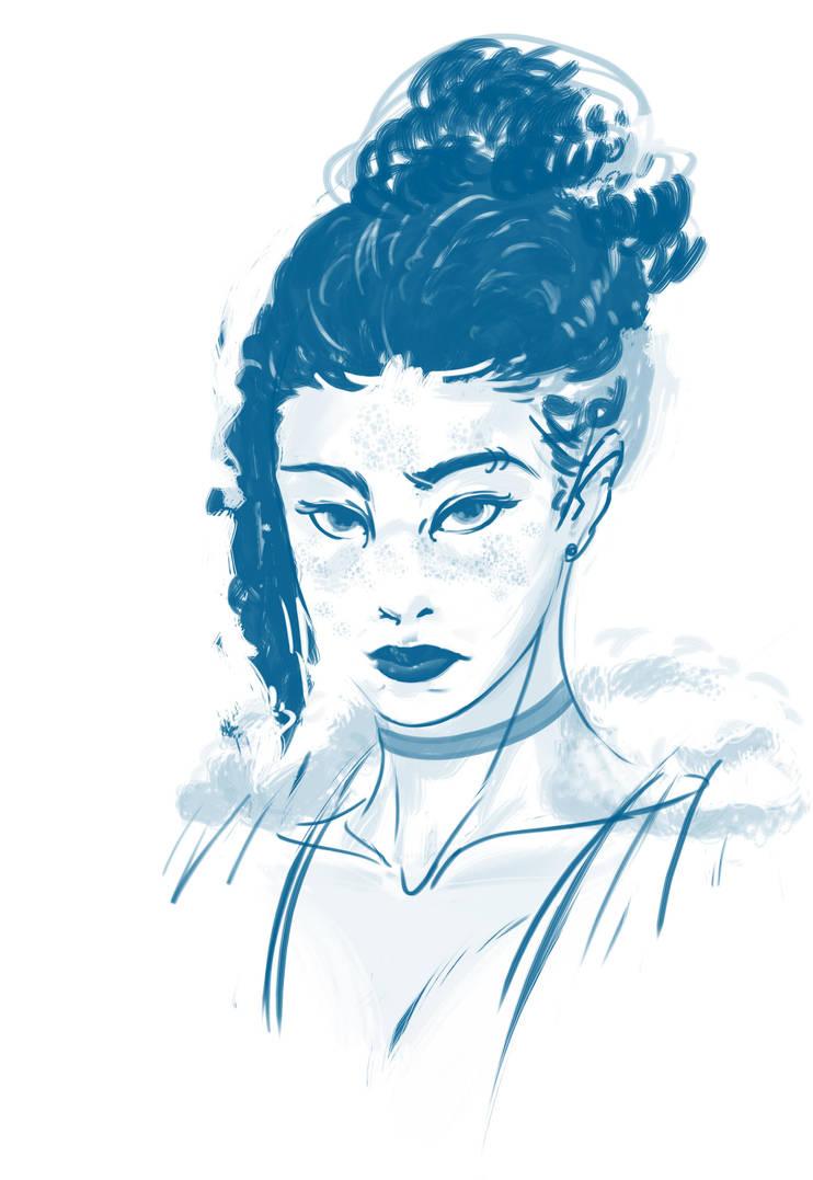 Rando Sketch by Nexxorcist