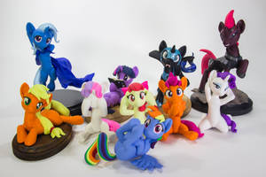 Featured at BronyCon 2018 by dustysculptures