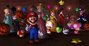 Super Mario Halloween by 1KamZ