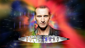 50th Anniversary Christopher Eccleston Wallpaper by theDoctorWHO2