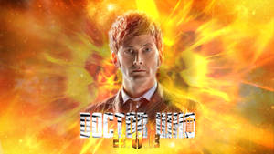 50th Anniversary Special David Tennant Wallpaper by theDoctorWHO2