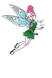 Venona as Tinkerbell by RoyalPaint
