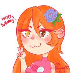 Happy Birthday, Honey by RoyalPaint