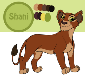 Shani 2018-2019 Reference Sheet by Fawnadeer