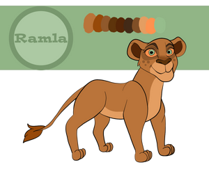 Ramla 2018-2019 Reference Sheet by Fawnadeer