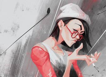 Girl_with_glasses_2 by tudvaseva-sasha