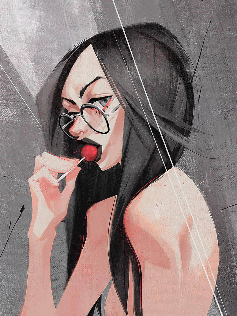 Girl_with_glasses_1 by tudvaseva-sasha