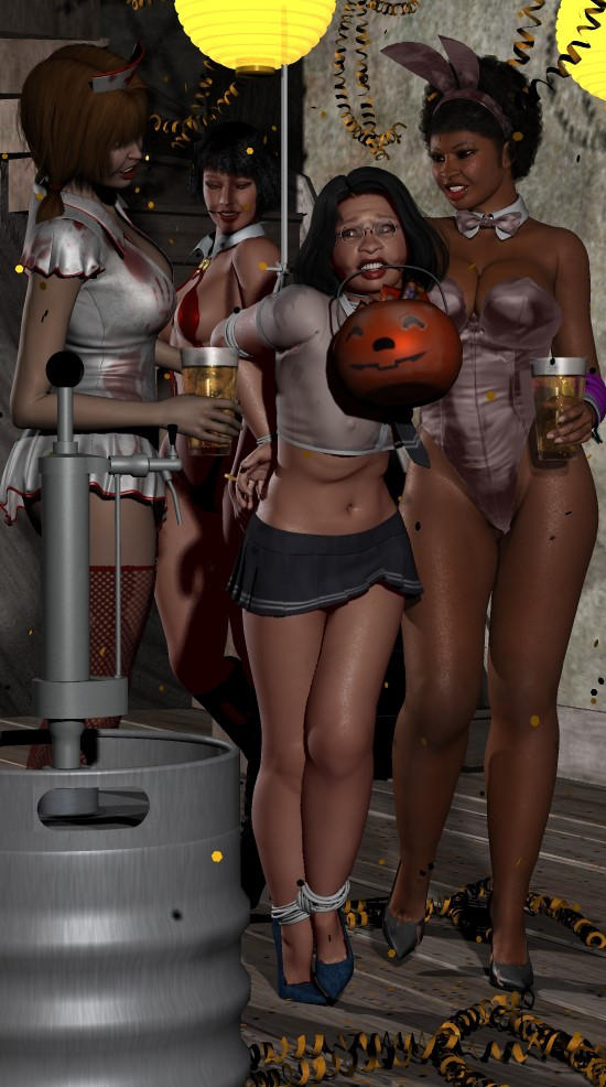 Kim's Sorority Halloween Party by clemente2121