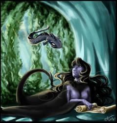 The Sea Witch by Sjazna