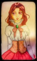 Mina Harker by JewelMistic