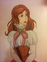 Mina Harker Disney Style by JewelMistic