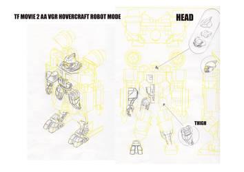 Transformers Classic Seaspray Design Sketches. by alexanderkubalsky