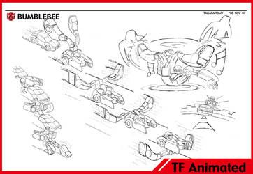 Transformers Animated Bumblebee by alexanderkubalsky
