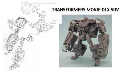 Transformers Movie 1 DLX SUV by alexanderkubalsky