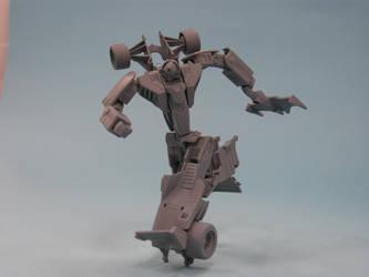 Transformers Classic Mirage prototype by alexanderkubalsky