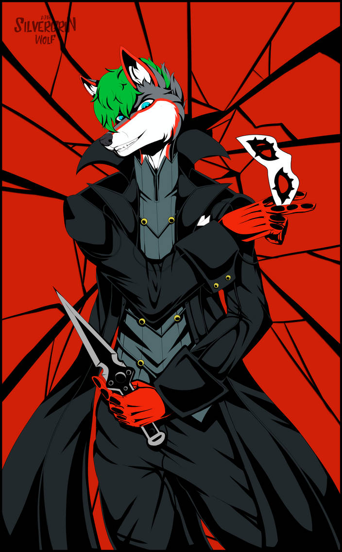 Cosplay: Persona 5 Joker by SilvergriN-w