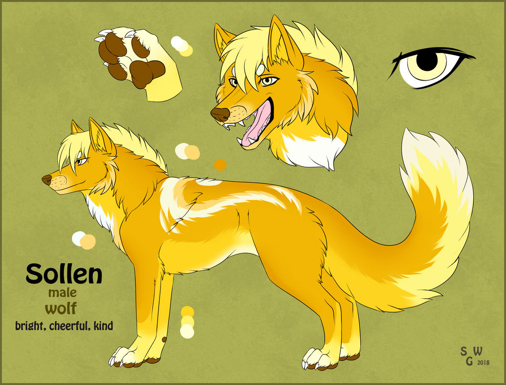 Sollen wolf by SilvergriN-w