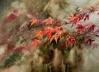 Red leaves Hunting by jakhont
