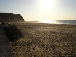 Autumn beach by 7UV733