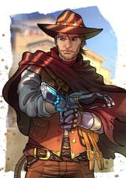 Commission - SciFi Cowboy by ElenaFerroli