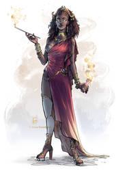 Queen Almasi - Commission by ElenaFerroli