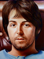 Paul McCartney by luceene-k