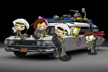 Nicktoon Ghostbusters: Ecto-1 by Nicktoonacle