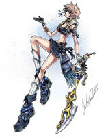 Sailor Uranus Keyblade Master by ShadowMaster23