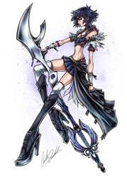 Sailor Saturn Keyblade Master by ShadowMaster23