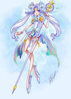 Pretty Cure Sailor Cosmos by ShadowMaster23